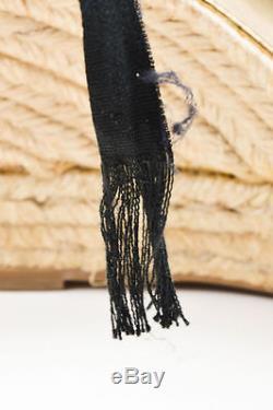 Missoni Noir Multicolore Maille Fermeture Bout Pointu Cheville Espadrille Compensées Sz 38