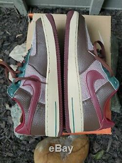 Nds 2006 Nike Air Force 1 Premium Samurai 313641-262 Taille 11 Af1 Uptowns