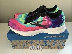 New Brooks Lancement 7 Run Rock N Roll Marathon Tie Dye Chaussures Pour Femmes Sz 9.5