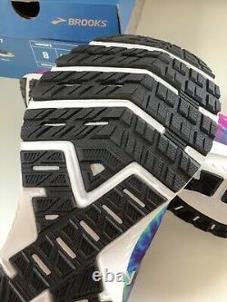 New Brooks Launch 7 Run Rock N Roll Marathon Tie Dye Chaussures Pour Femmes Sz 8