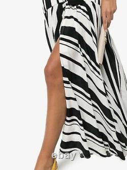 New Nwt $ 1900 Silvia Tcherassi Filomena Stripe Maxi Robe Longue Robe Us 4 6 Petits