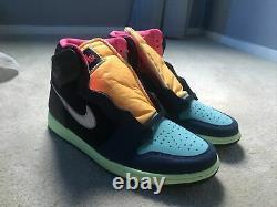Nike Air Jordan 1 Rétro High Og Tokyo Bio Hack Taille 10.5 Nouveau