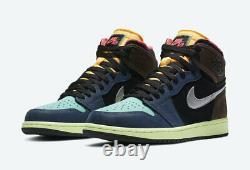 Nike Air Jordan 1 Retro High Shoes Tokyo Bio Hack 555088-201 Homme Ou Gs Nouveau