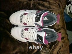 Nike Air Jordan 4 Psg Paris Saint-germain Baskets Taille 11 Utilisé