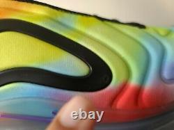 Nike Air Max 720 Tie Dye Arc-en-multicolor Chaussures De Course Ck0845-900 Sz 15 Rare