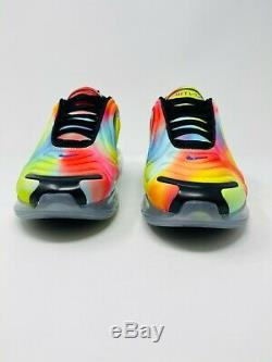 Nike Air Max 720 Tie Dye Édition (ck0845 900) Taille Homme 8.5 / Taille Femmes 10