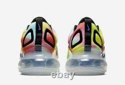 Nike Air Max 720 Tie Dye Multi Color Running Shoes Ck0845-900 Taille 15 Homme