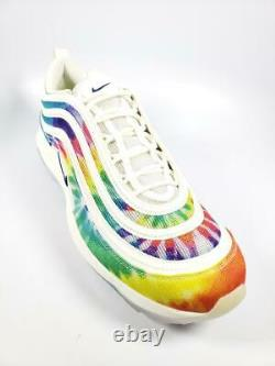 Nike Air Max 97 G Nrg Spikeless Golf Shoes Ck1219-100 Homme Taille 13 Tie Dye
