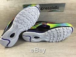 Nike Air Max 97 Hommes Nouveau Tie-dye Black Multi-color Ck0841-001 Taille 11