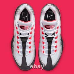 Nike Court Zoom Vapor X Air Max 95 Solaire Db6064-100 Roger Federer Tennis 11