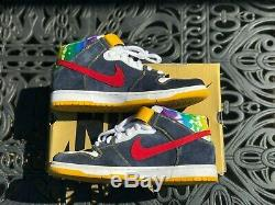 Nike Dunk Sb MID Pro Tie Dye Homme Taille 12 2008 Très Bon 100% Authentique Cond