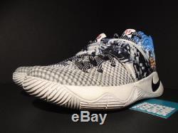 Nike Kyrie 2 Tie Dye Multicolore Noir Voile Blanc 819583-901 8