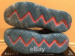 Nike Kyrie 4 All Star Tie Dye Hommes Sz 13 Noir Blanc Aq8623 001