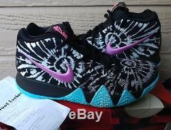 Nike Kyrie 4 Asg Supreme Qs Limitée Max Caillot Pk Boost Sz 9 Tie Dye