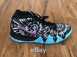 Nike Kyrie Irving 4 As All Star Tie Dye Noir Blanc Violet Aq8623-001 Taille 10.5