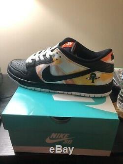 Nike Sb Dunk Low Pro Qs X Raygun Tie Die 10 Taille