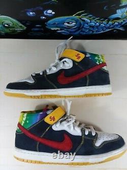 Nike Sb Dunk MI Tie Teinture