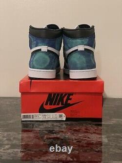 Nike Wmns Air Jordan 1 High Og Tie-dye (us 10.5m/12w) Cd0461-100