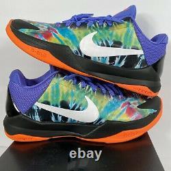 Nike Zoom Kobe V Protro 2020 Sz 9 Tie Dye Multicolor Black White Promo Nouveau 5 Pe