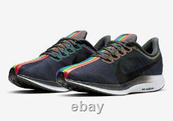 Nike Zoom Pegasus Turbo Be True Lgbtq Ck1948-001 Taille 10us Hommes Chaussures De Course