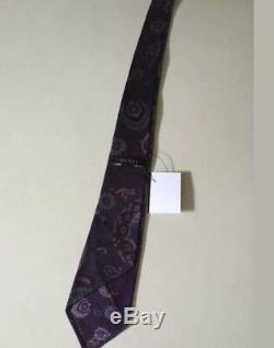 Nouveau Cravate Gucci Skinny 100% Soie Multicolore Fabriquée En Italie