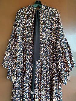 Nouveau Free People Charlotte Tie Front Maxi Dress Multi Couleur M Au Détail $ 168.00