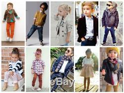 Nouveau Gros Lot 100 Pcs Mixte Enfants Enfants Garçons T Shirts Cravates Vêtements Vêtements