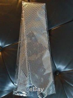 Nouveau Mens Tom Ford Noir Soie Géométrique Soie Imprimé Cravate Avec Étiquette