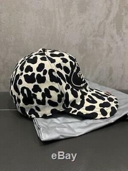 Nouveau Prada Leopard Tie Dye Élégant Logo De Baseball Chapeau Taille Xs Extra Small