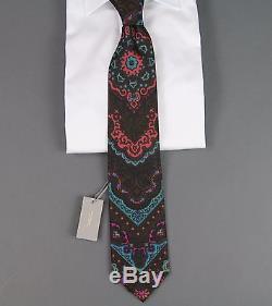 Nouveau Rare Tom Ford Cravate En Soie À Motif Complexe Et Luxueux Nwt