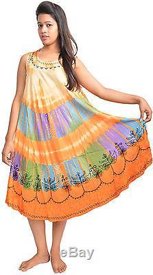 Nouveau Style Rayonne Cravate Colorant En Gros 25 Robes Indiantrend