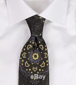Nouvelle Cravate En Soie Luxueuse Aux Motifs Complexes Multicolores, Tom Ford, Territoires Du Nord-ouest