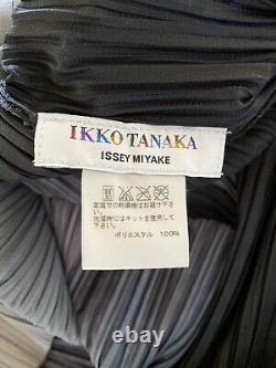 Nwot Ikko Tanaka Issey Miyake Tie Belt Polyester Dress, One Size
