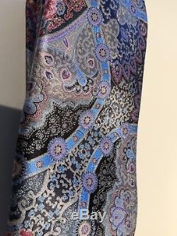 Nwt Ermenegildo Zegna Édition Limitée Quindici Silk Tie