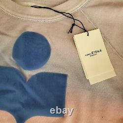 Nwt Isabel Marant Etoile Tie Dye Milly Raglan Sweat-shirt Taille 40 / Moyenne 330 $