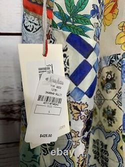 Nwt Johnny Était Cassie Reversible Silk Kimono Wrap Top Town Top Top
