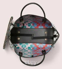 Nwt Kate Spade Everything Flower Medium Tote Bag Green Multi Fits 17 Ordinateur Portable