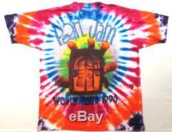 Pearl Jam Vintage T-shirt Des Années 90 Concert 1995 Tour Tie Dye Seattle Grunge Band
