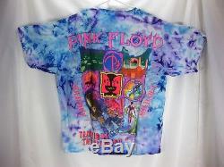 Rare Erreur Impression Vintage Rose Floyd Tie Dye Division Bell 1994 Tour T-shirt