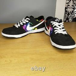 Rare Nike Sb Dunk Low Taille 10.5 Pro Ishod Wair Tie Dye 819674-019