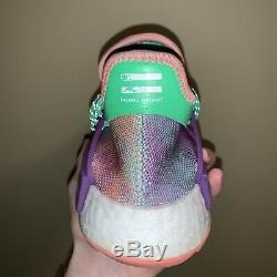 Rare Pharrell Williams X Adidas Nmd Human Race Tie Dye Holi Festival Taille 6.5