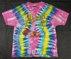 Rare Vtg Harley Davidson Tshirt Tshirt Cravate Rock Fish Band