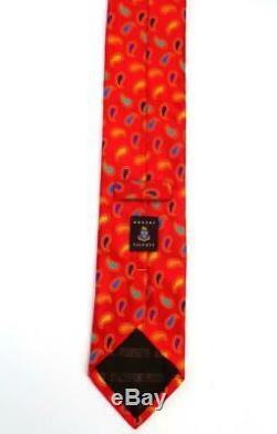 Robert Talbott Boc Cravate 'paisley' Multicolor'hollywood Faite À La Main, Vibrante