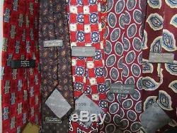 Robert Talbott Cravates Lot Cravates Multicolores Vintage Lot 22