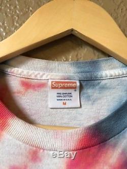 Satin Tie Dye Supreme Tee Shirt Vintage Taille M Ss07