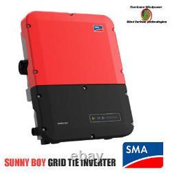 Sma Sunny Boy Sb7.7-1sp-us-40 Onduleur De Réseau Lien Avec L'alimentation Sécurisée