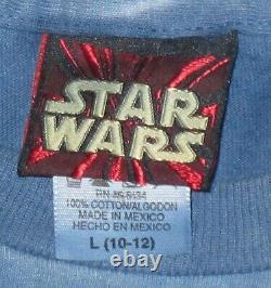 Star Wars Queen Amidala Padme Lucas Film Anakin Solo Hans Tie Dye Vtg Shirt