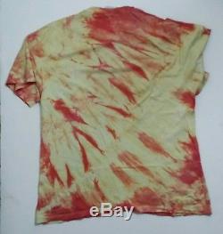 T-shirt Led Zeppelin XL Tie-dye, 1990 Authentique Classique Rock Vintage