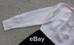 Ted Baker London Jensah Tie Neck Manches Longues Rose Robe 2 # = Us6 Livraison Gratuite