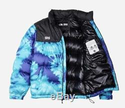 The North Face Sneakersnstuff Tie Dye Sns Tnf Nuptse Jacket Sz L Navires Entreprise